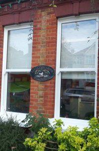 Large vertical sliding sash windows