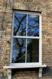 Energy efficient sliding sash window