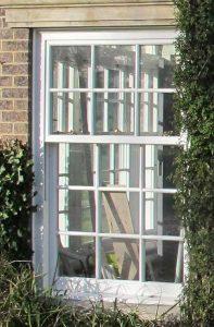 Sash window slim line perfect for heritage sites