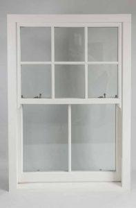 Ultimate Rose sash window closed
