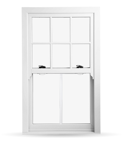Edwardian Sash Windows - Charisma Rose