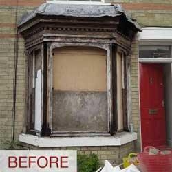 Newport Sash Window Installation
