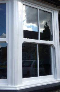 clean upvc sash window from charisma collection