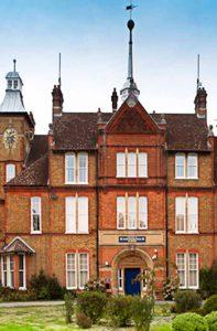 Heritage Rose sash windows used in large period property