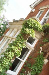 uPVC sash windows for heritage property