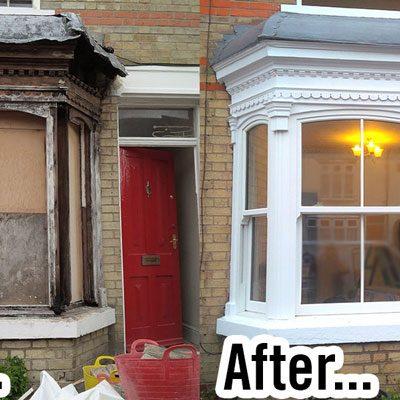 Heritage Rose Installation - Comparison