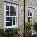 uPVC white Sash Windows Charisma