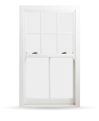 Edwardian Sash Windows - Heritage Rose
