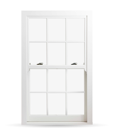 Georgian Sash Windows - Heritage Rose