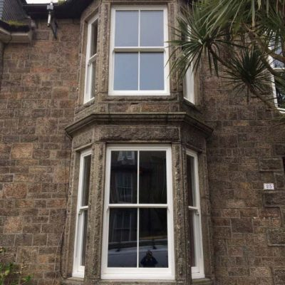 Cornwall Ultimate rose sash window Cornwall