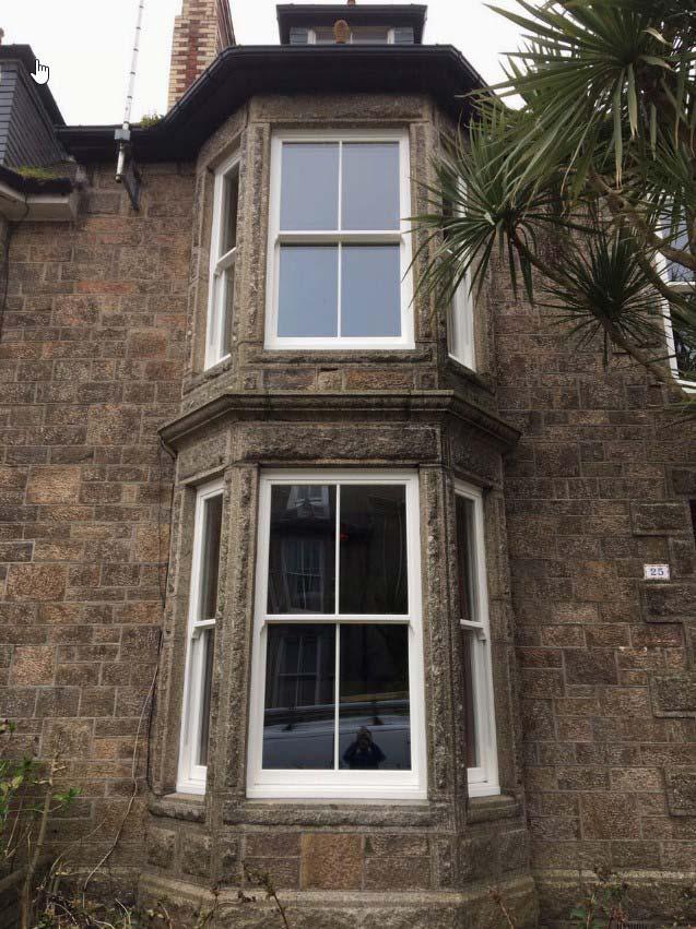 Cornwall Ultimate rose sash window Cornwall