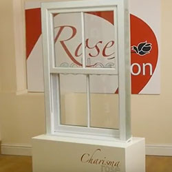 uPVC Charisma Rose Sash Window Video