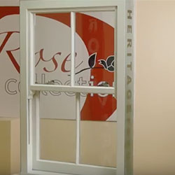 uPVC Heritage Rose Sash Window Video