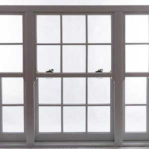 white sash window mullion