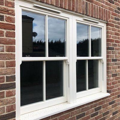 Ultimate Rose sliding sash windows in Wisbech