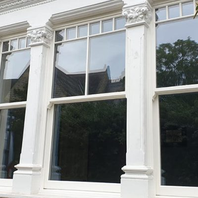 Ultimate Rose sliding sash windows in Wallington