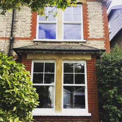 Heritage Rose Sliding Sash Windows