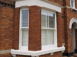 white ultimate Roseview Windows, refurb, bay