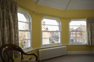 white ultimate Roseview Windows, bespoke, arches