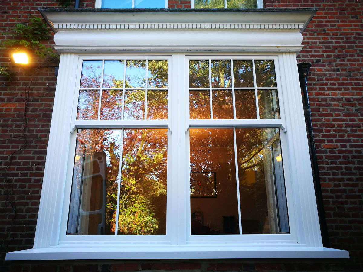 Performance of uPVC Sash Windows