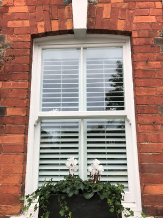 white heritage Roseview Windows,
