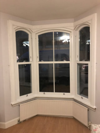 white heritage Roseview Windows, bay