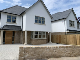 grey heritage Roseview Windows, new build