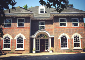 white  Roseview Windows, arches, bespoke