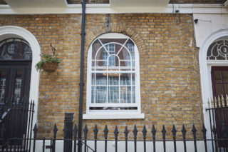 white heritage Roseview Windows, arches, bespoke