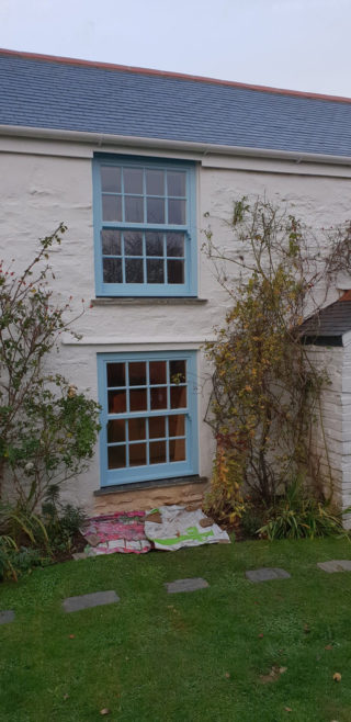 blue heritage Roseview Windows,