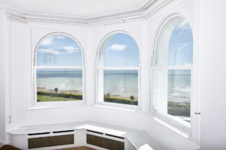 white  Roseview Windows, arches, bespoke