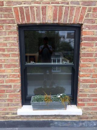 black ultimate Roseview Windows, bespoke colour