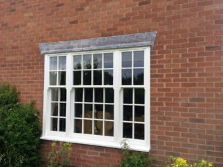 white ultimate Roseview Windows, bespoke, slim mullion