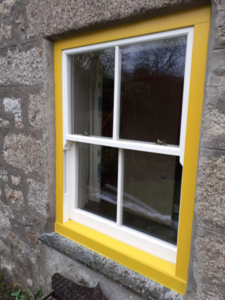 yellow ultimate Roseview Windows, bespoke colour, bespoke