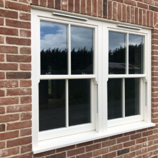 white ultimate Roseview Windows, new build