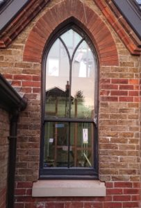 anthracite-grey  Roseview Windows, arches, bespoke