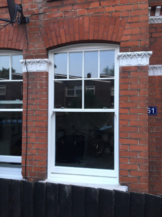 white ultimate Roseview Windows, arches, bespoke