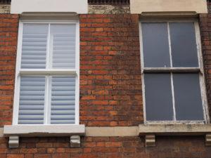 What is a box sash window?