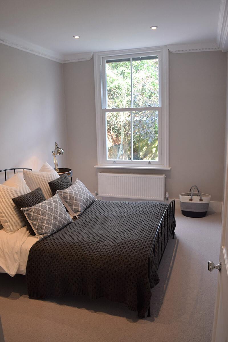 Millwater cottage bedroom