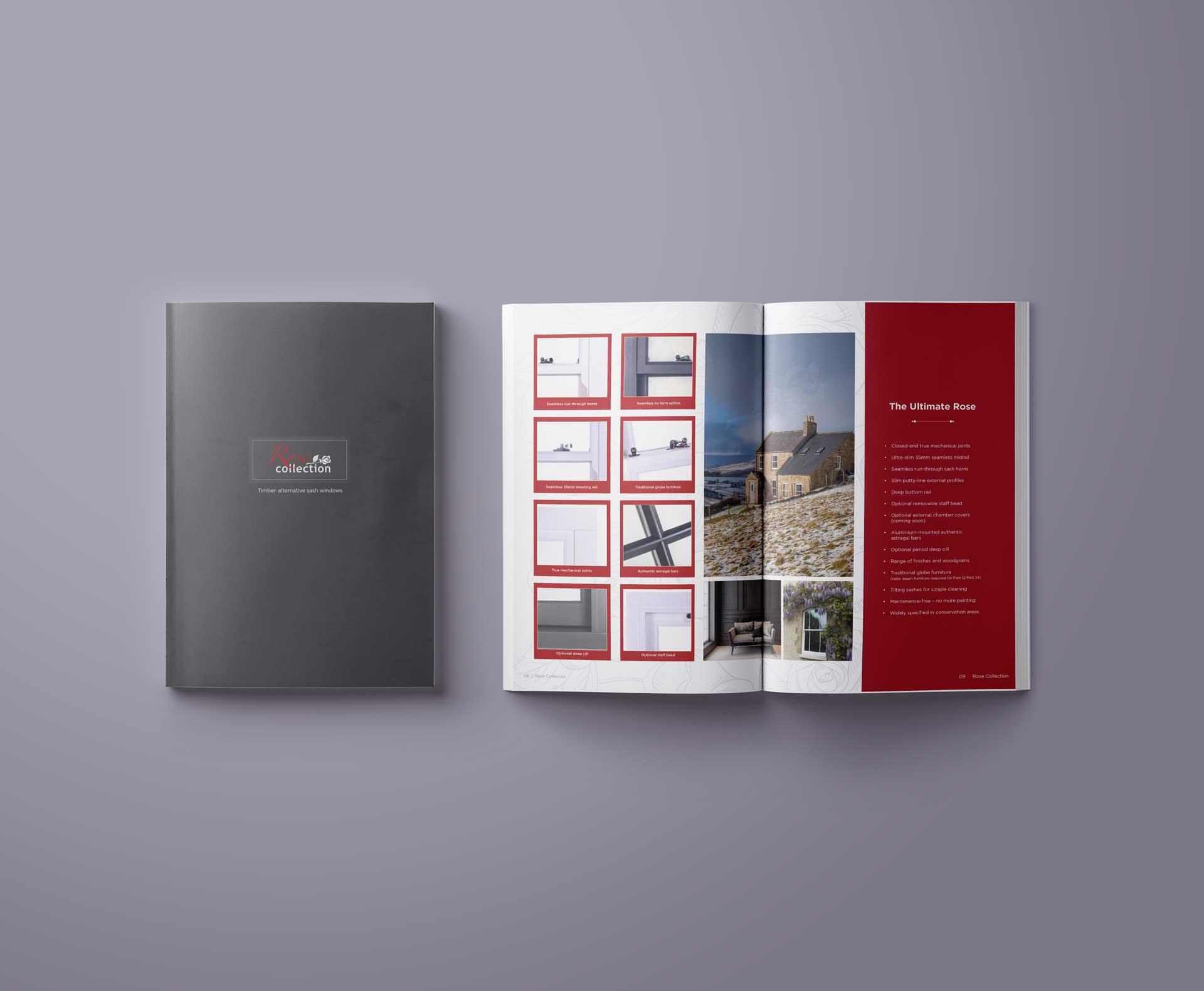 Rose Collection Sash Windows Brochures