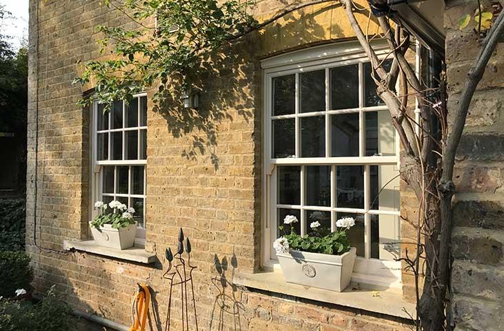 replace wooden sash windows